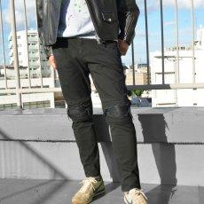 画像14: 【純烈主演/映画「スーパー戦闘純烈ジャー」着用アイテム】ダメージ2ラインパンツ 全2カラー メンズ (14)