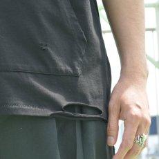 画像9: どくろダメージTシャツ 全2カラー ユニセックス (9)