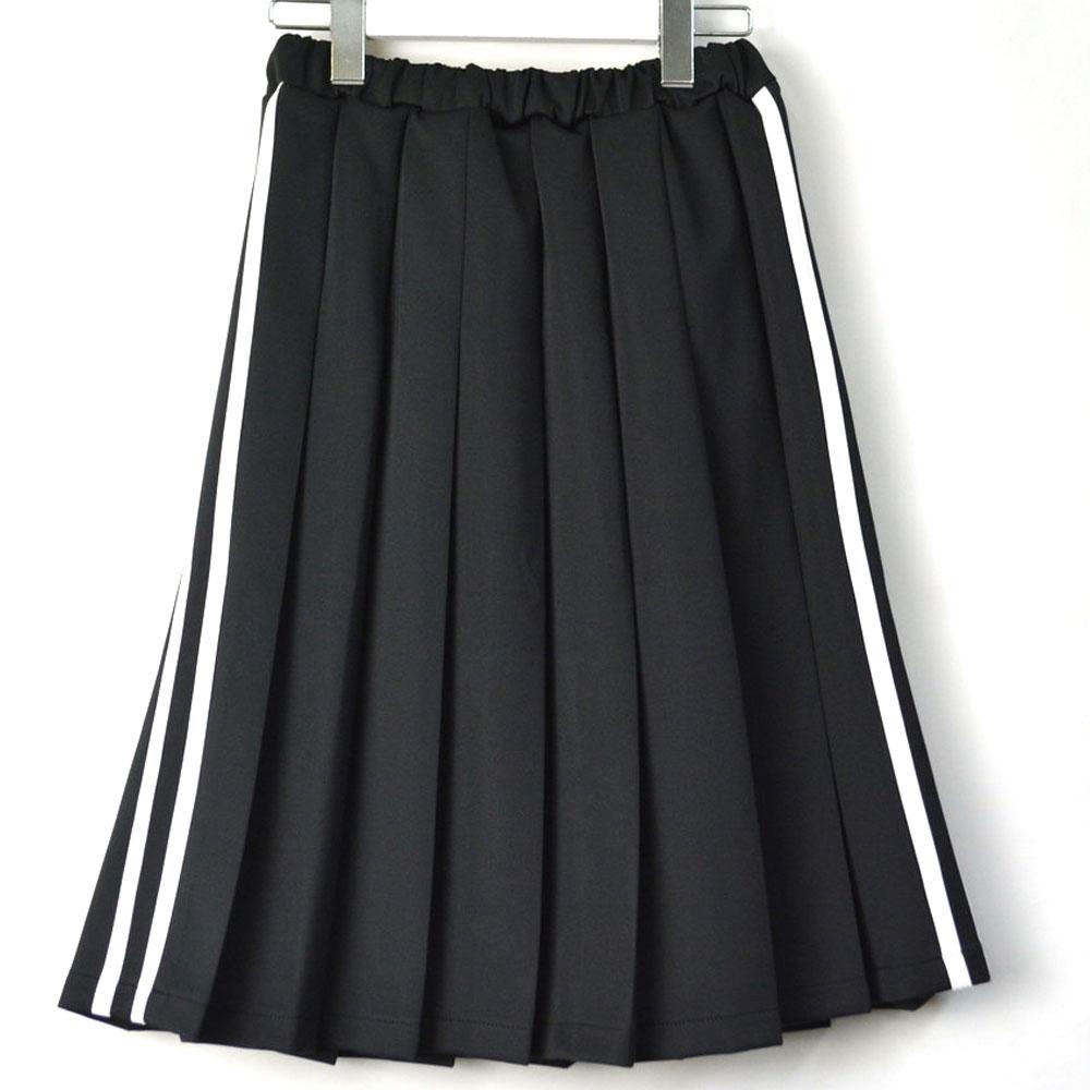 画像1: 2LINEジャージスカート 全2カラー レディース (1)