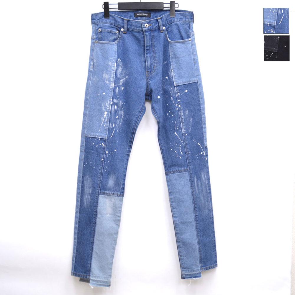 画像1: PATCHWORK DENIM PANTS 全2カラー メンズ (1)
