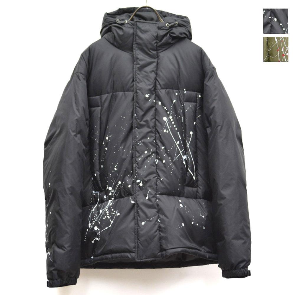 画像1: 【受注生産】ペイントダウンジャケット 全2カラー メンズ (1)