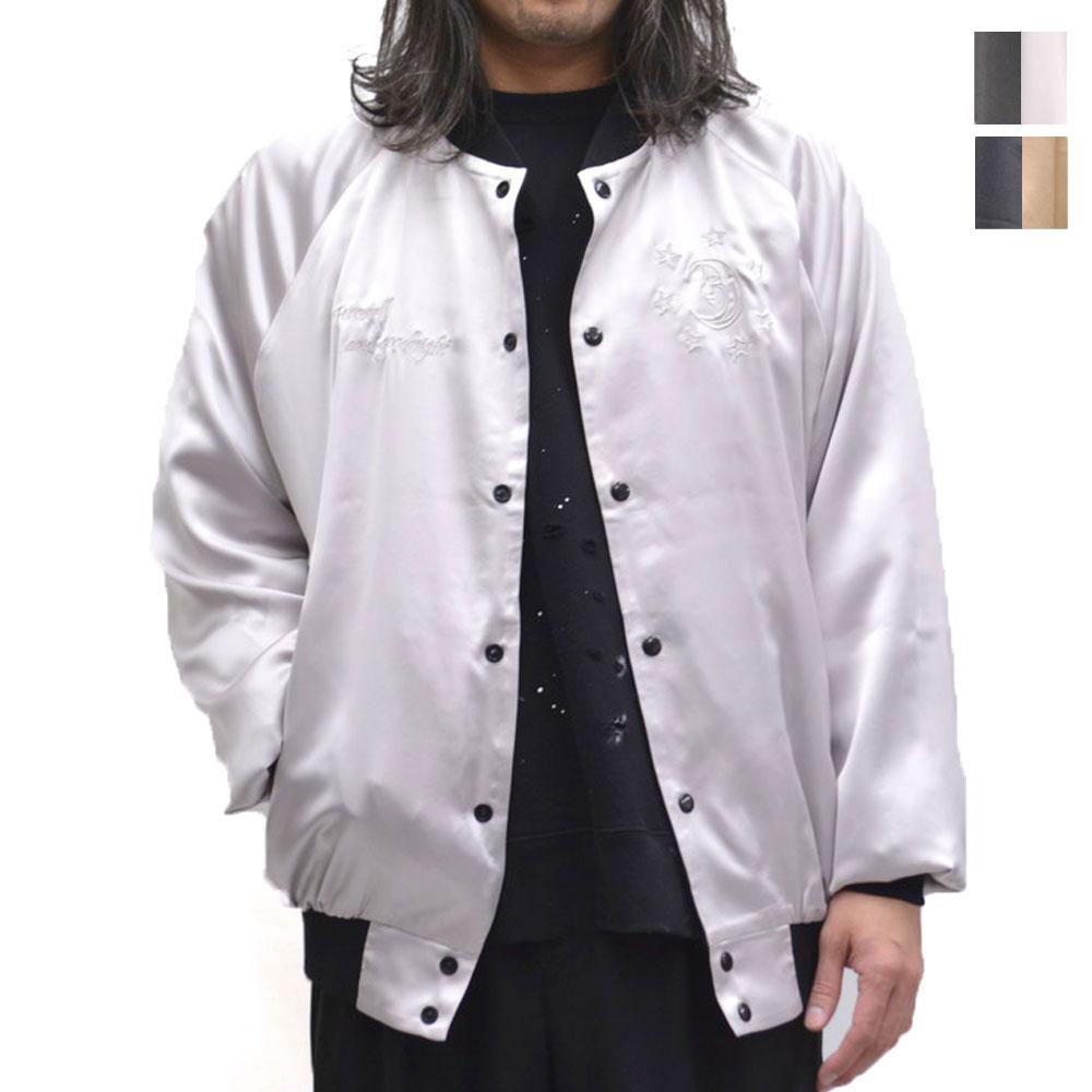 画像1: リバーシブルサテンジャケット 全2カラー メンズ (1)
