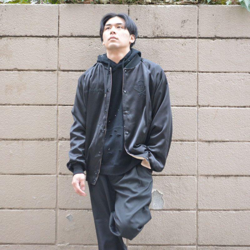 リバーシブルサテンジャケット